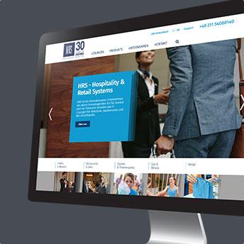 HRS International Webseite