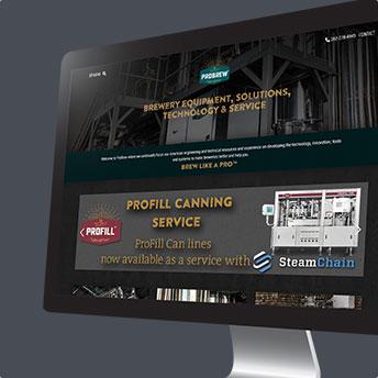 ProBrew Webseite