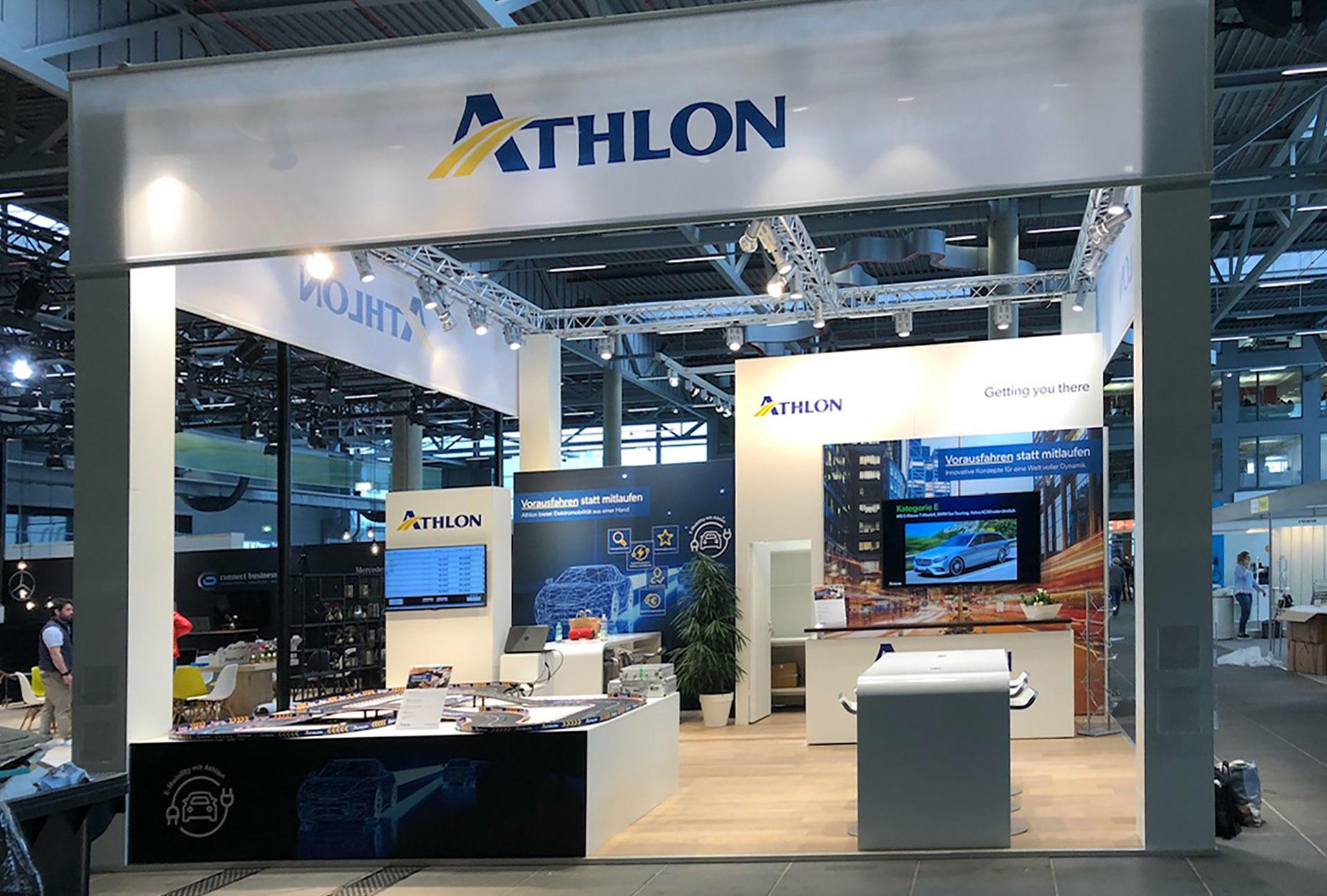 Athlon Messestand auf der FLOTTE! Branchentreff