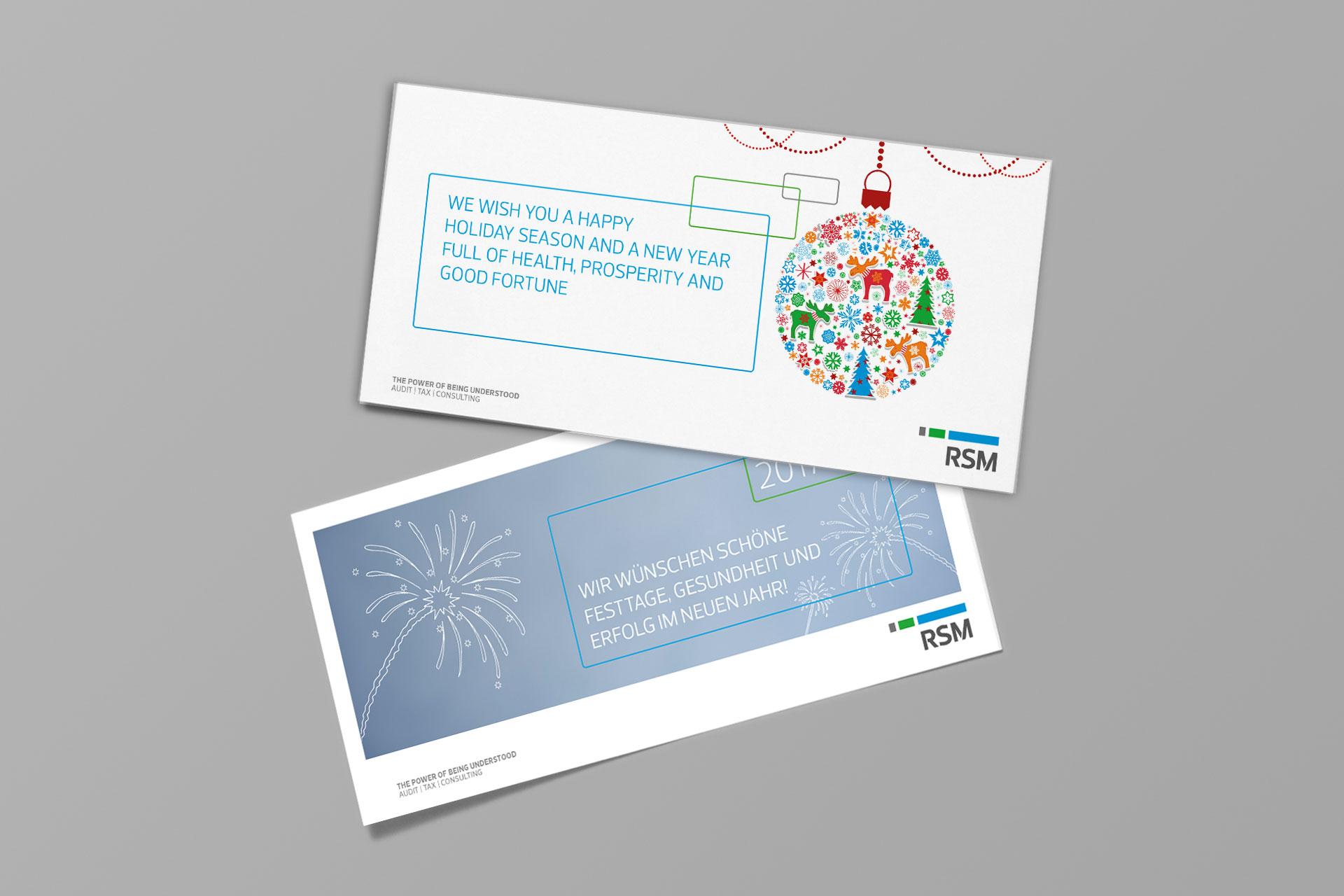 RSM Weihnachtskarte