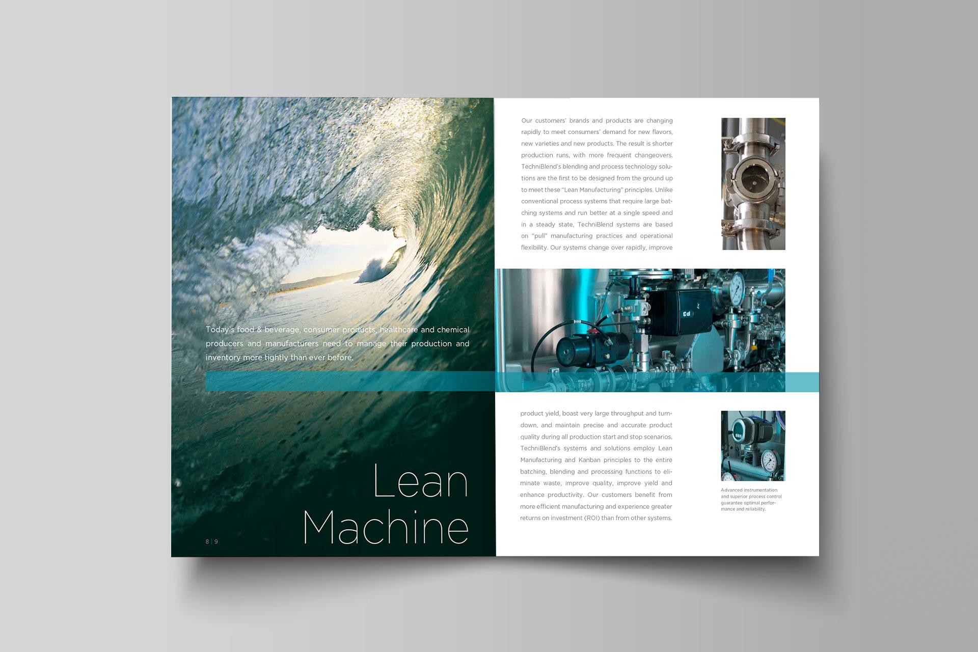 Techniblend Imagebroschüre
