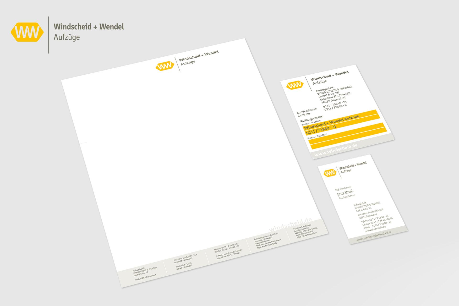 Windscheid Corporate Design