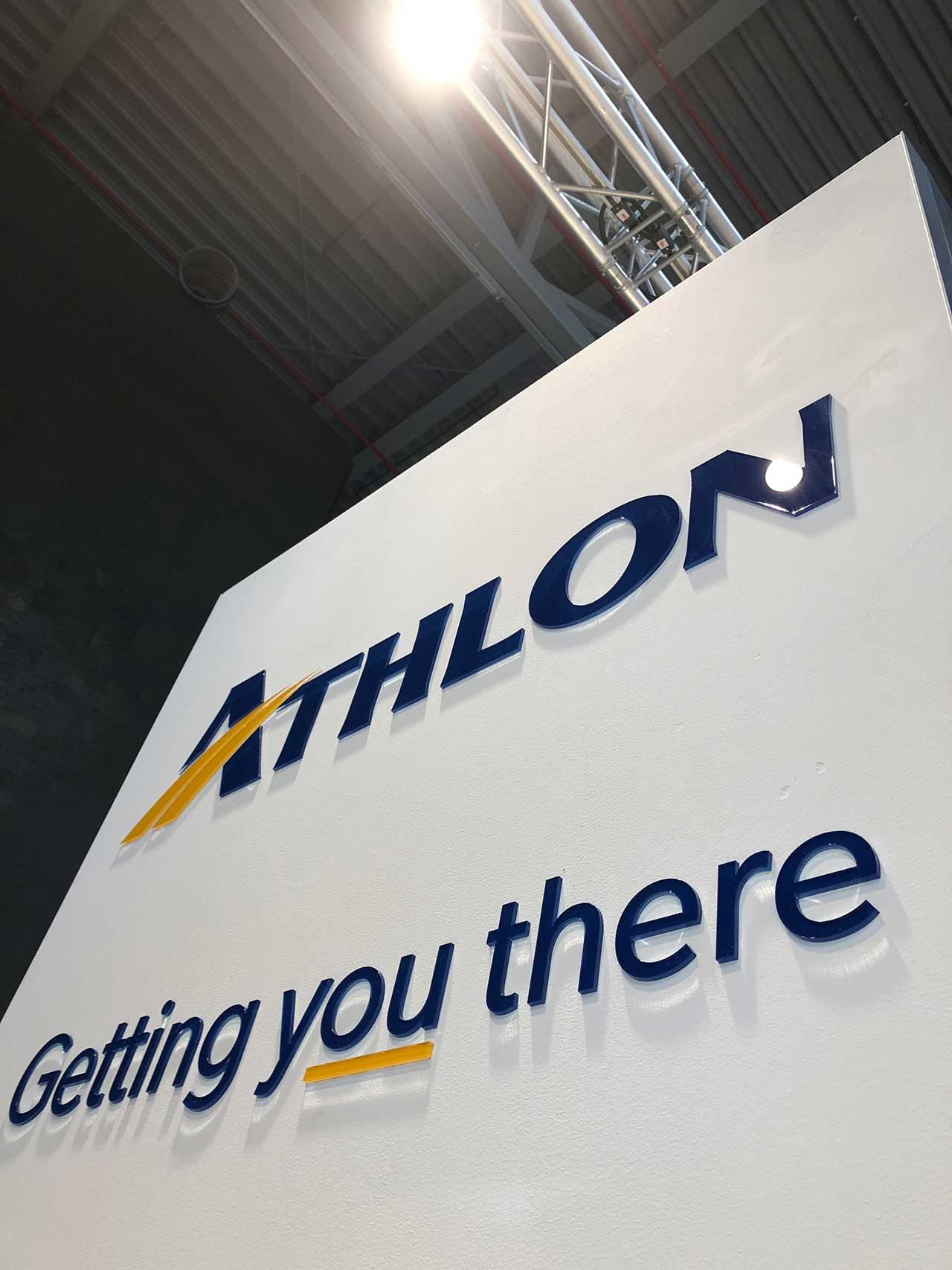 Athlon Branding 3D