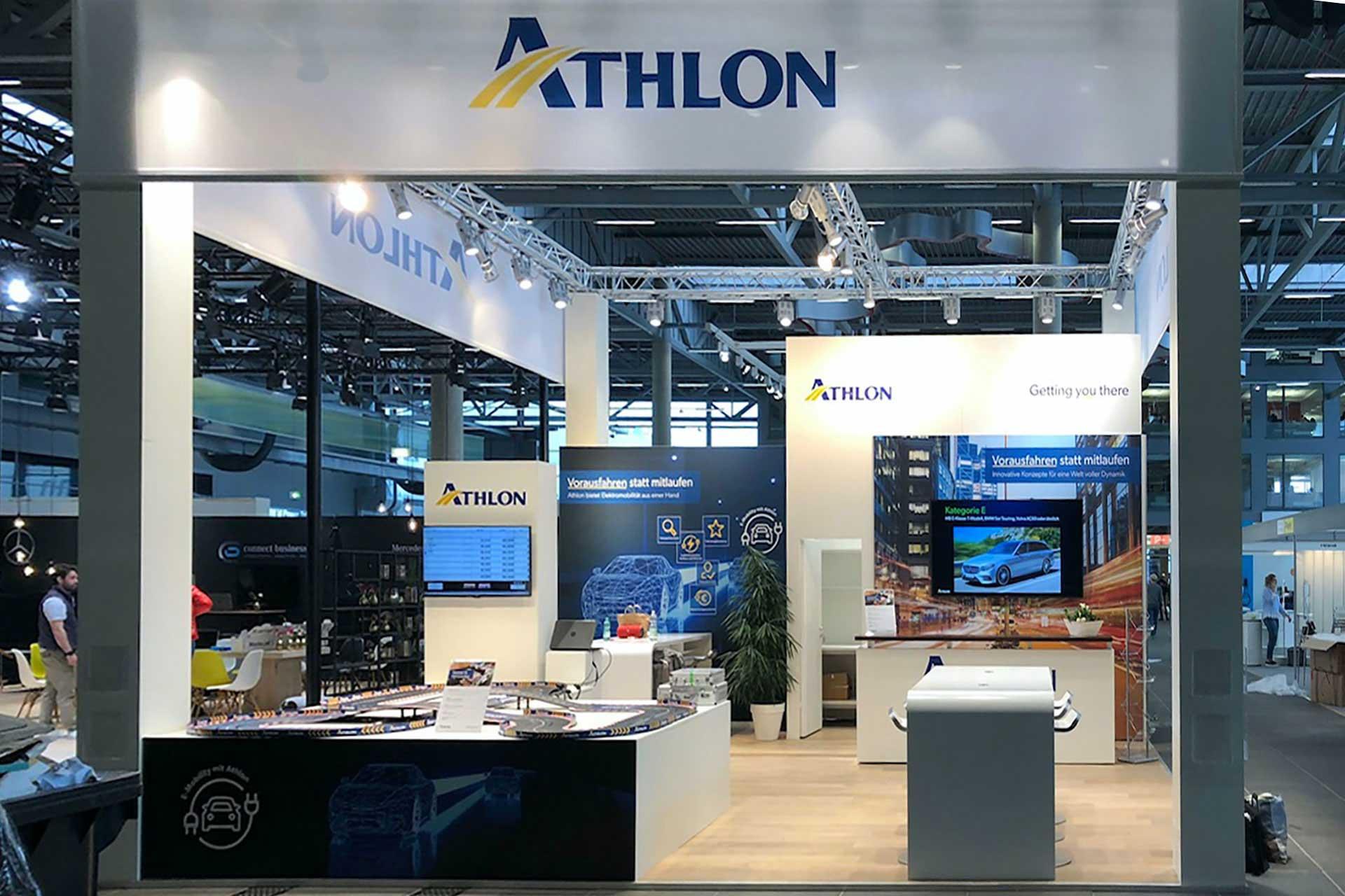 Athlon Messestand bfp-Fuhrparkforum
